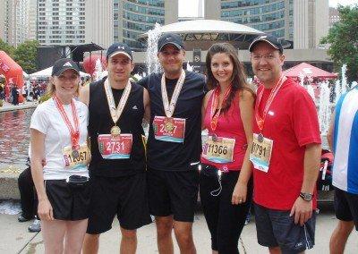 Brandon Buller Toronto Waterfront Half-Marathon