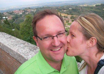 Brandon Buller in Tuscany